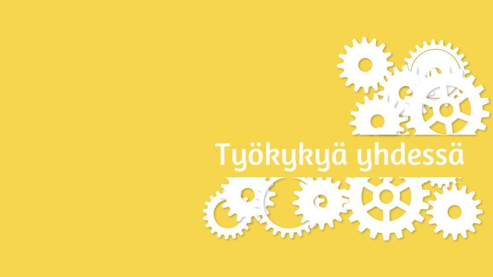 Työkykyä yhdessä -hankkeen logo
