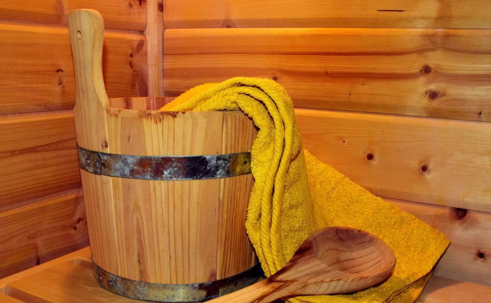 sauna löylykiulu pyyhe